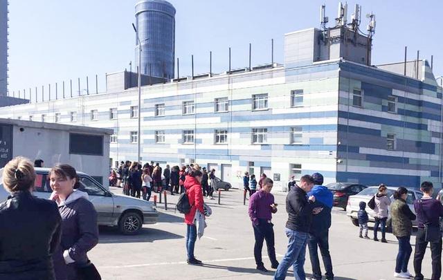 Из торгово-развлекательного комплекса в Челябинске эвакуировали людей