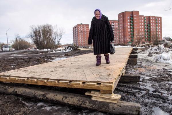 Работы по установке «паркета» на Ленинградском закончились на прошлой неделе