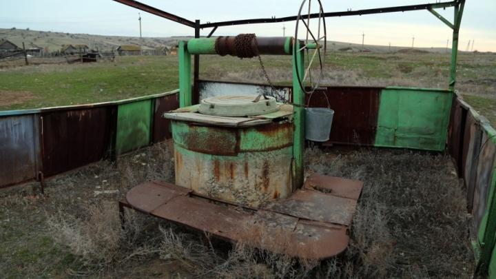 В Волгоградской области жители села Горный Балыклей травятся грязной водой