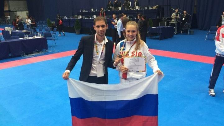 Уверенная победа: челябинская тхэквондистка выиграла первенство Европы среди кадетов