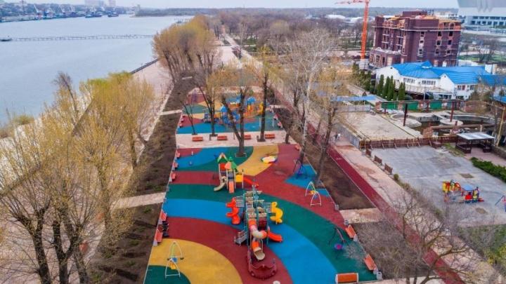 Ростовская администрация может передать парк на левом берегу Дона частнику