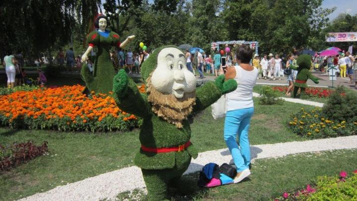 В Самаре на фестивале цветов установят полутораметровую скамью и цветочный фонтан