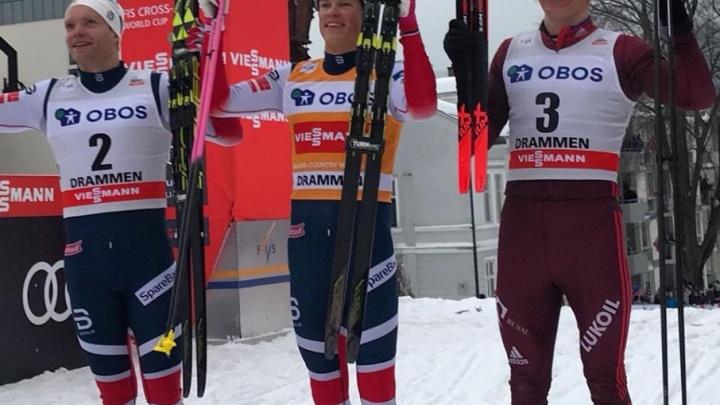 Тюменский лыжник Большунов взял бронзу в спринте на этапе Кубка мира в Норвегии