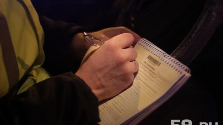 Пермская полиция задержала пьяного водителя автобуса, перевозившего 15 человек