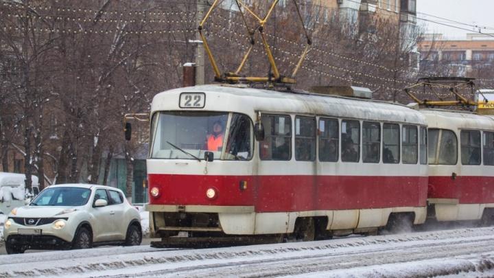 Движение трамваев по Ташкентской временно ограничат