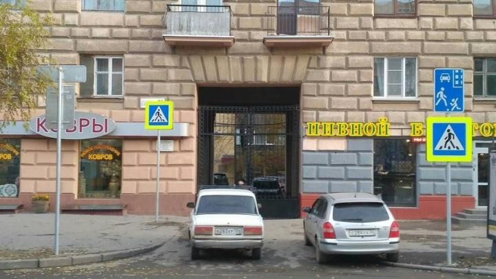 В Волгограде закрытые арки декорируют новыми дорожными знаками