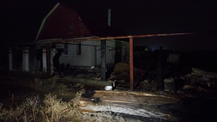 При пожаре в Ольховском районе погибла семейная пара