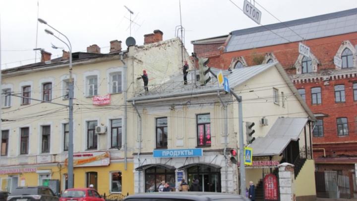 На ярославских крышах замажут все граффити