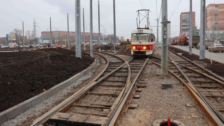 На трамвайную линию до «Самара Арены» выделят еще 400 млн рублей