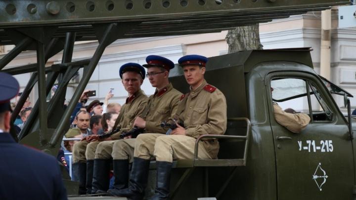 «Катюша» и Т-34: техника с полей сражений будет участвовать в параде Победы в Ростове