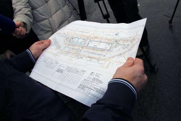 Так выглядит будущая площадь у МРВ на план-проекте