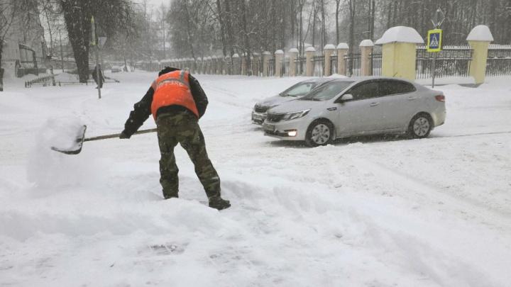 Владимир Слепцов попросил ярославцев помочь коммунальщикам убрать снег