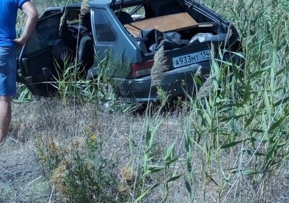 В Волгограде перевернулась «четырнадцатая»: один человек погиб