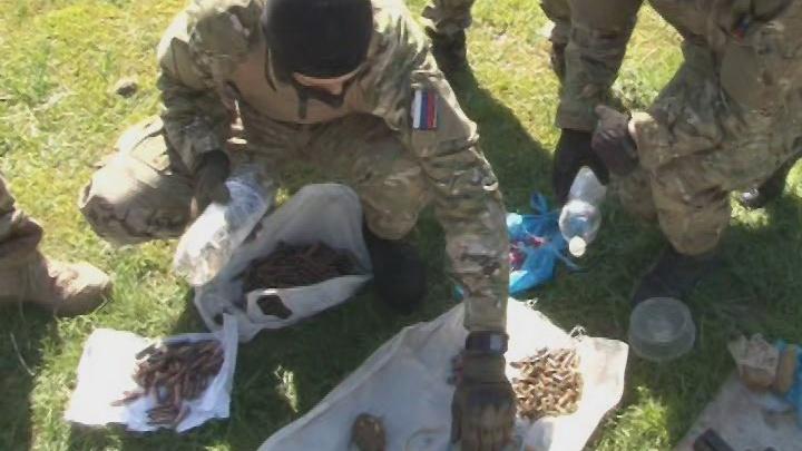 Под Ростовом в подсобке у местного жителя обнаружили склад с гранатометами и другим оружием