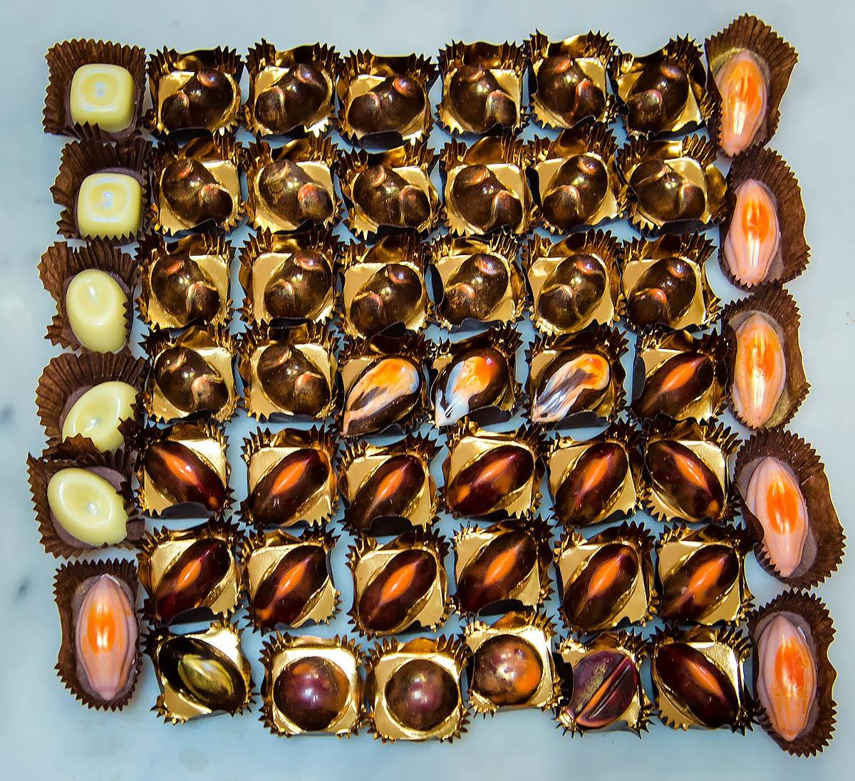 В запасе шоколатье всегда не меньше тысячи конфет