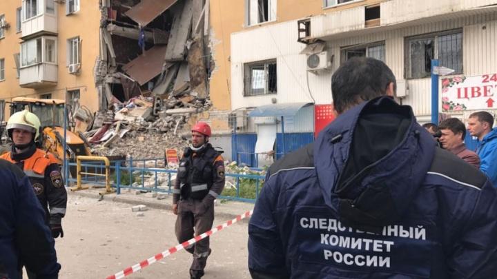 Следователи возбудили уголовное дело по факту обрушения подъезда в Волгограде