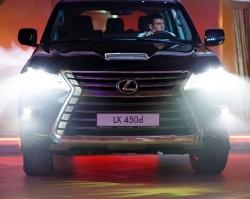 В Тюмени презентовали новый Lexus LX