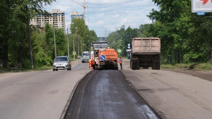 Многострадальное шоссе в Ярославле отремонтирует московская фирма