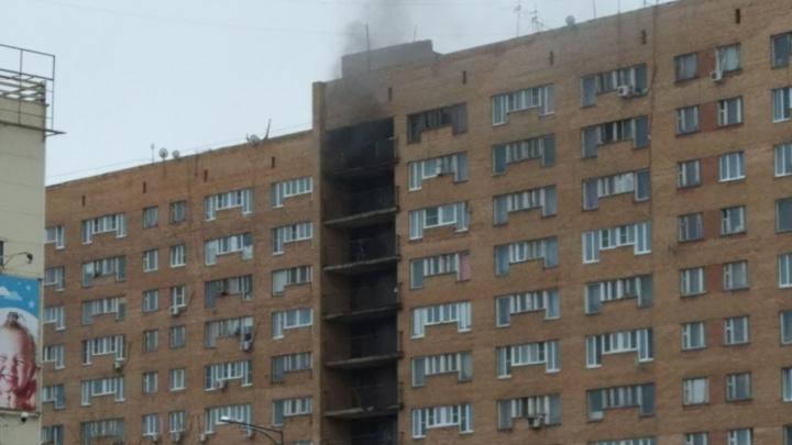 «Подожгли матрас»: в Тольятти горел жилой дом