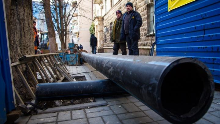 Настала пора опрессовок: в середине апреля часть Ростова останется без горячей воды