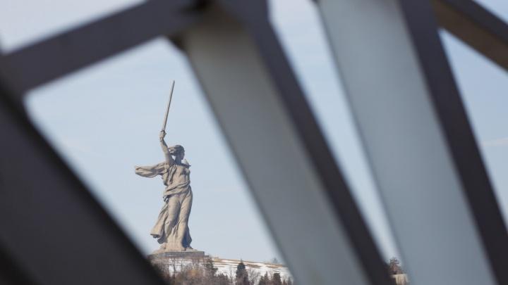Другая «Родина-мать»: смотрите необычные фото давно знакомого монумента