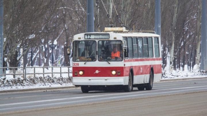 Возобновили движение: троллейбусы запустили по кольцу на Луначарского