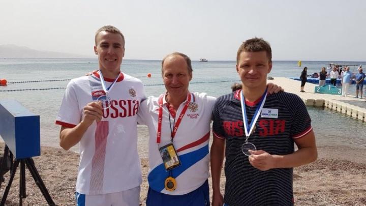 Ярославские пловцы на открытой воде начали сезон с медалей