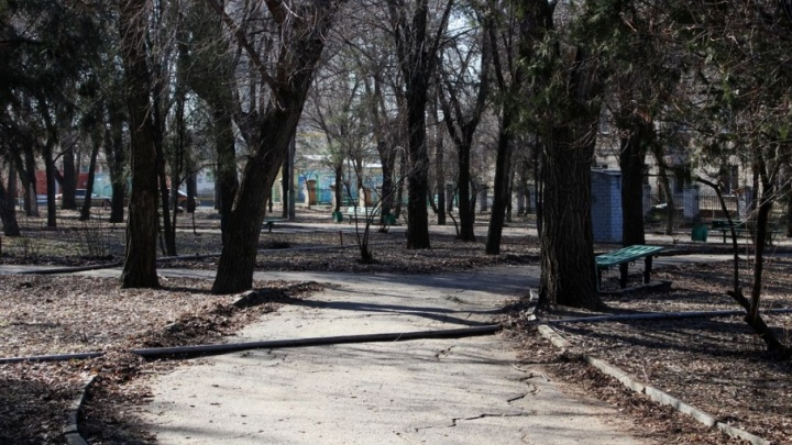 Парки-близнецы в Волгограде выглядят как принц и нищий