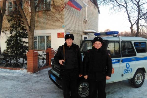 Сотрудники вневедомственной охраны, которые задержали разбойников