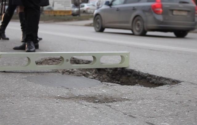 Правда или шутка: яму на Погодина заасфальтируют к 1 апреля