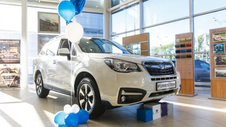 «Автоград» стал единственным представителем Subaru в Тюмени