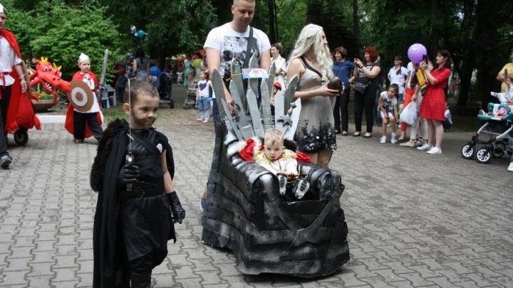 Мать драконов, Змей Горыныч и римская колесница: в Ростове прошел «Бал младенца»
