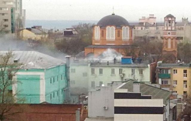 Дым из СИЗО на Кировском проспекте напугал ростовчан