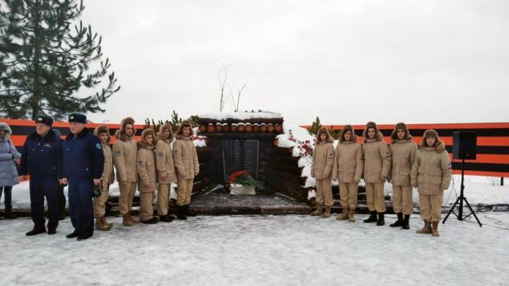 В Волгограде открыли мемориал на месте блиндажа Родимцева