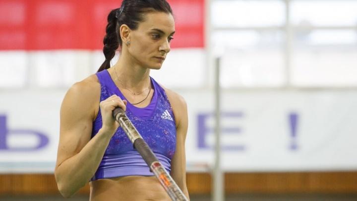 Волгоградка Елена Исинбаева пообещала передать свои флюиды российским олимпийцам