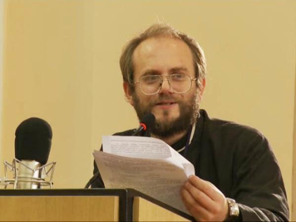 Протодиакон Владимир Василик/кадр из видео/bogoslov.ru/Архив
