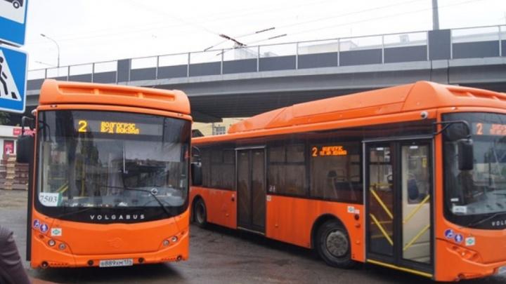 Попавшая под колеса автобуса волгоградка отсудила у ПАТП №7 сто тысяч рублей