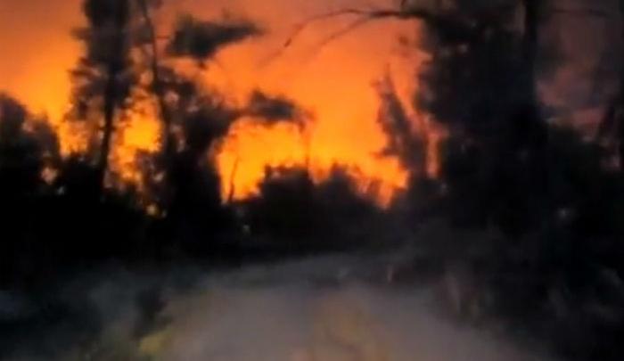 Природный пожар под Каменском тушили больше 15 часов
