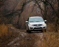 Suzuki грязи не боятся!