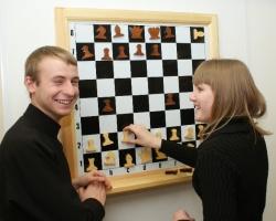 Освобождение Ростова РИНХ отметил шахматным боем