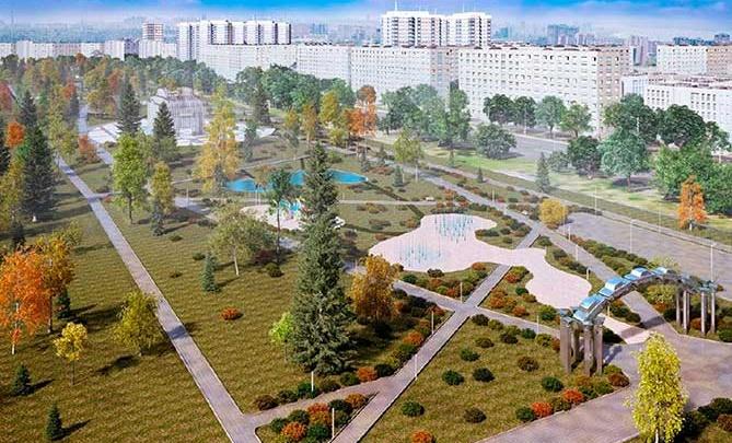 В Самарской области появится сквер в честь 50-летия АВТОВАЗа с фонтаном