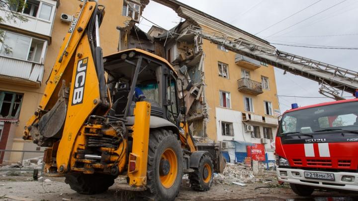 Сотрудники службы подземных работ «Волгоградгоргаза» были в эпицентре взрыва