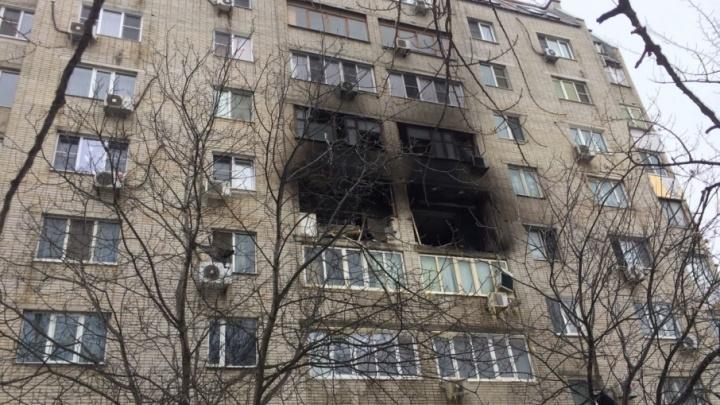 В Ростове из-за взрыва газа загорелась многоэтажка: есть жертвы