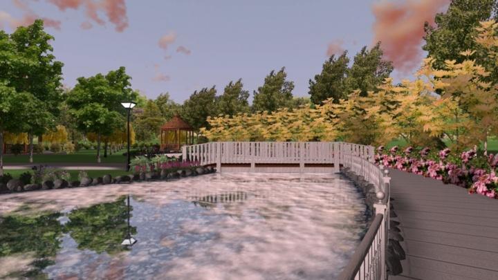 Ландшафтные дизайнеры создали проект для парка на Адмирала Макарова