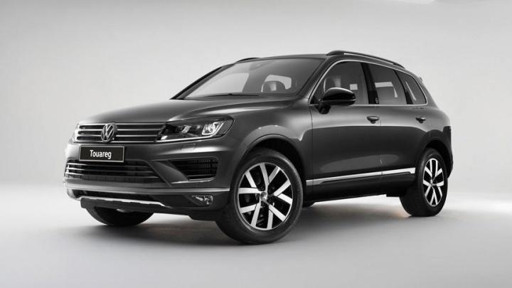 Volkswagen Touareg Wolfsburg Edition по доступной цене в сентябре в «Волга-Раст»