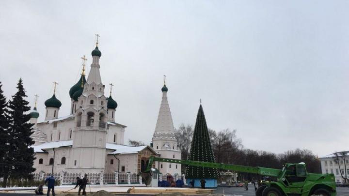 Ярославцев согреют на новогоднем катке