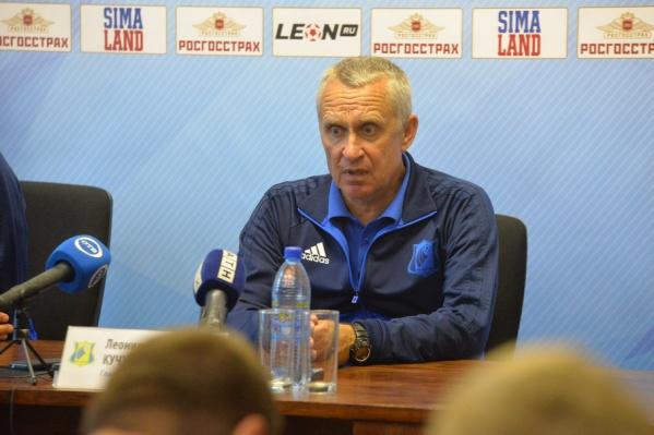 Леонид Кучук посетовал на травмы, но остался доволен ничьей