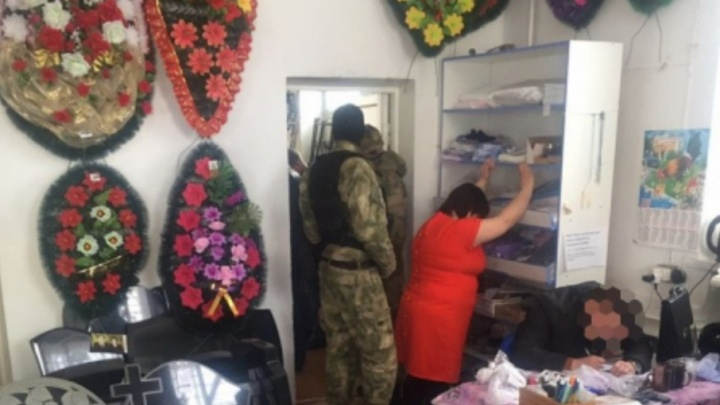 В Самарской области мужчина торговал «смертью» в магазине ритуальных услуг
