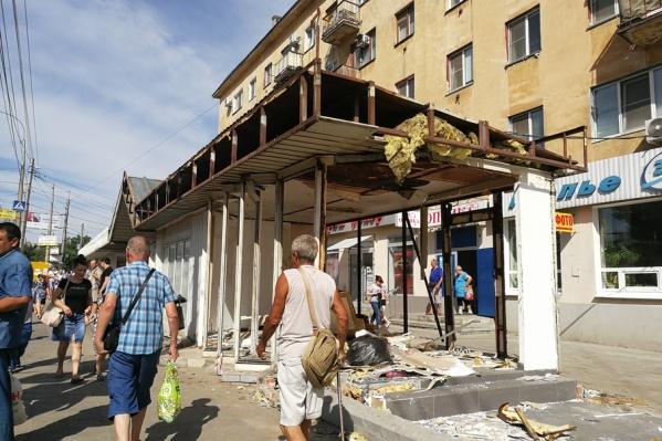 Районные власти обещают сделать уличную торговлю цивилизованной