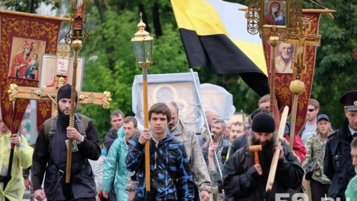 В Перми 12 июня на время крестного хода перекроют дороги в двух районах. Карта